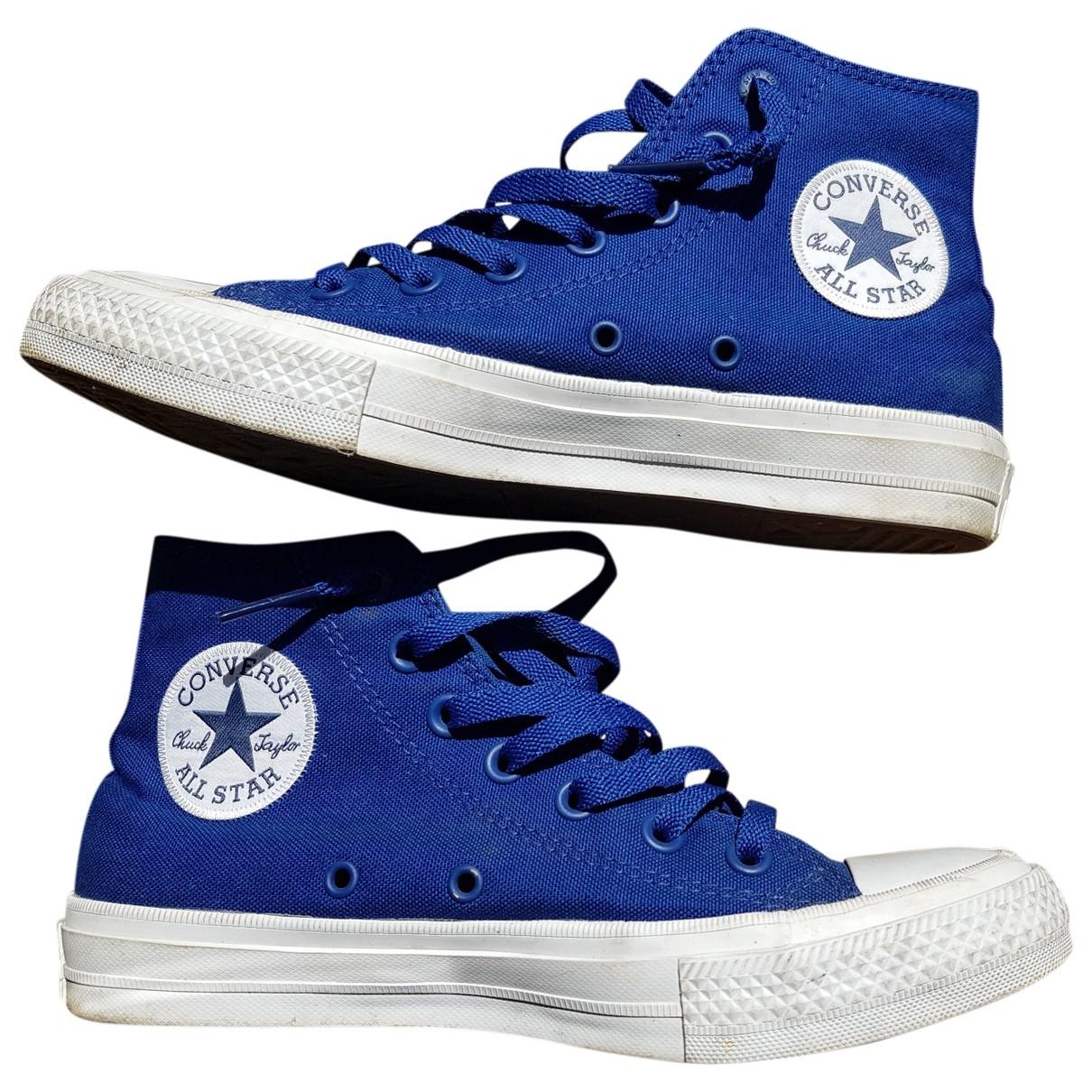 Converse \N Blue Cloth Trainers for Women 38 EU