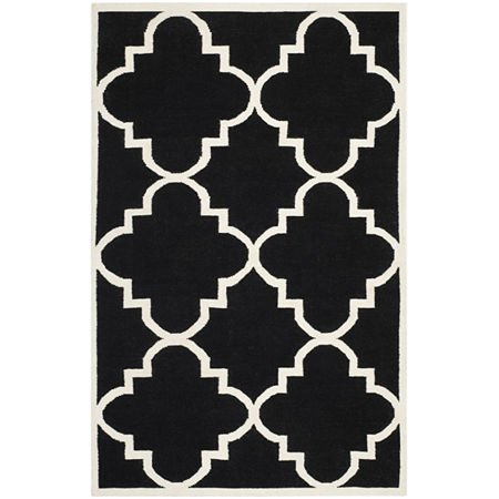 Safavieh Candis Hand Woven Flat Weave Area Rug, One Size , Black