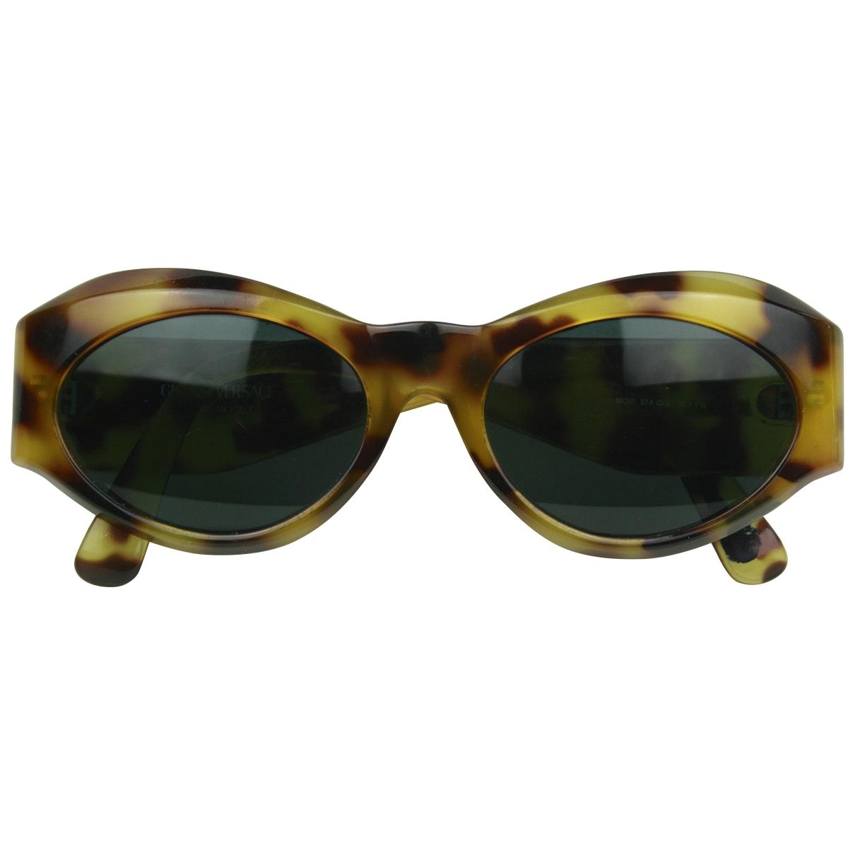 Gianni Versace \N Yellow Sunglasses for Women \N