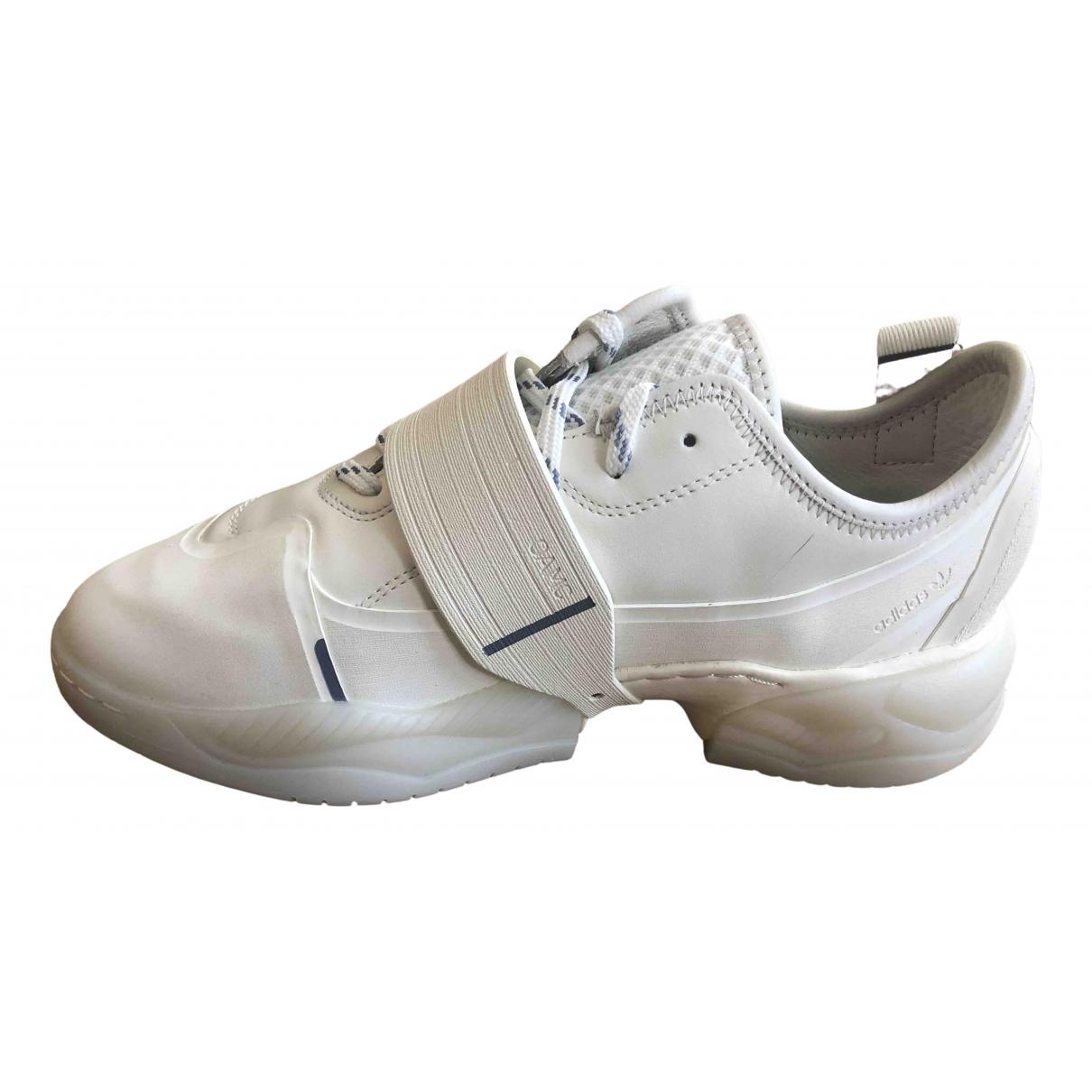 Adidas X Oamc \N Sneakers in  Weiss Leder