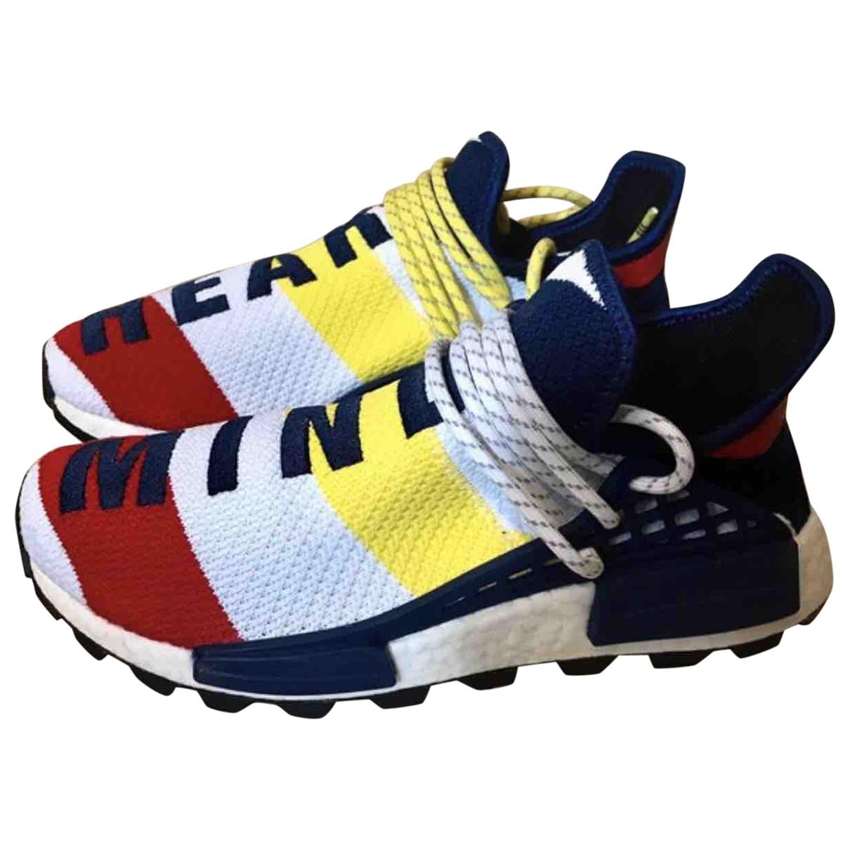 Adidas X Pharrell Williams NMD Hu Multicolour Trainers for Men 40.5 EU