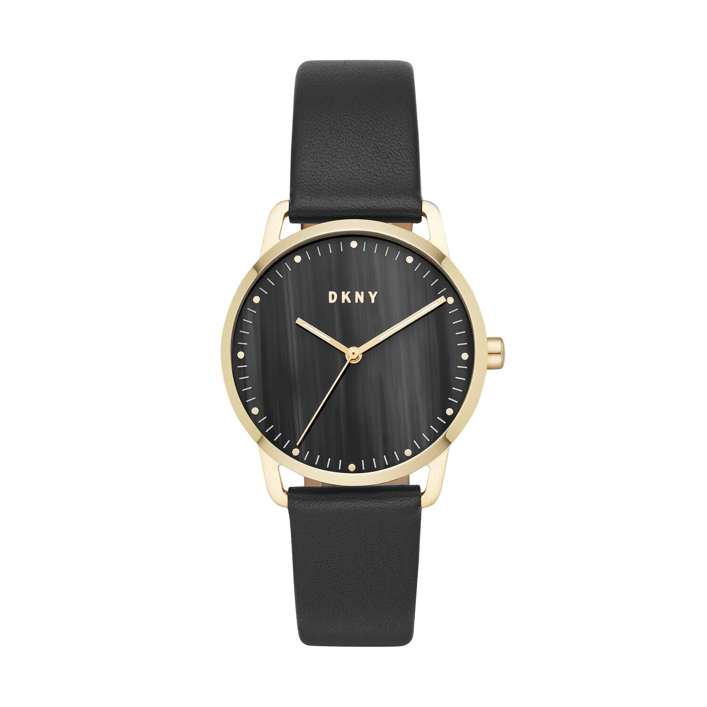 Dkny Women's Greenpoint NY2759 Gold Leather Quartz Fashion Watch