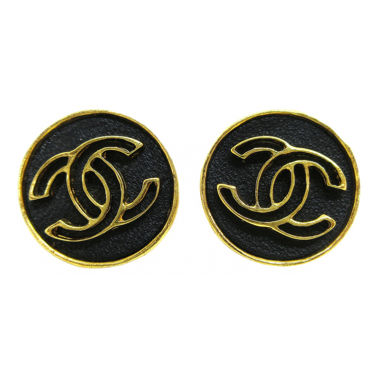 Chanel - Boucles doreilles CC pour femme en autre