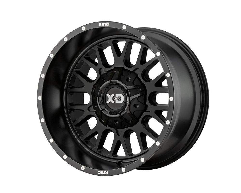 XD Series XD84221235744N XD842 Snare Wheel 20x12 5x5x127/5x139.7 -44mm Satin Black