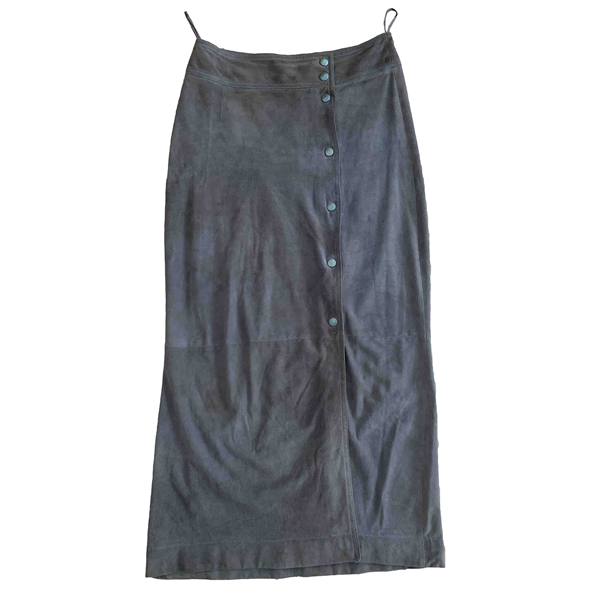 Celine \N Brown Leather skirt for Women 38 FR