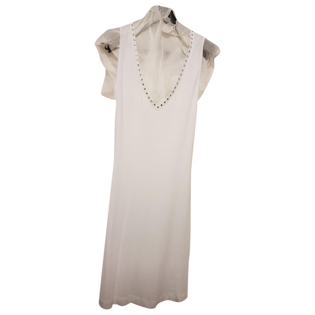 Dolce & Gabbana \N Badeanzug in  Weiss Lycra