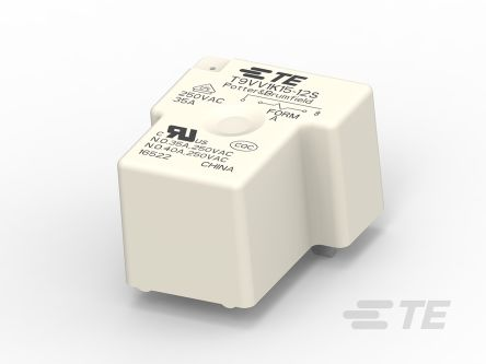 TE Connectivity 12V dc Coil Non-Latching Relay SPST, 40A Switching Current PCB Mount Single Pole