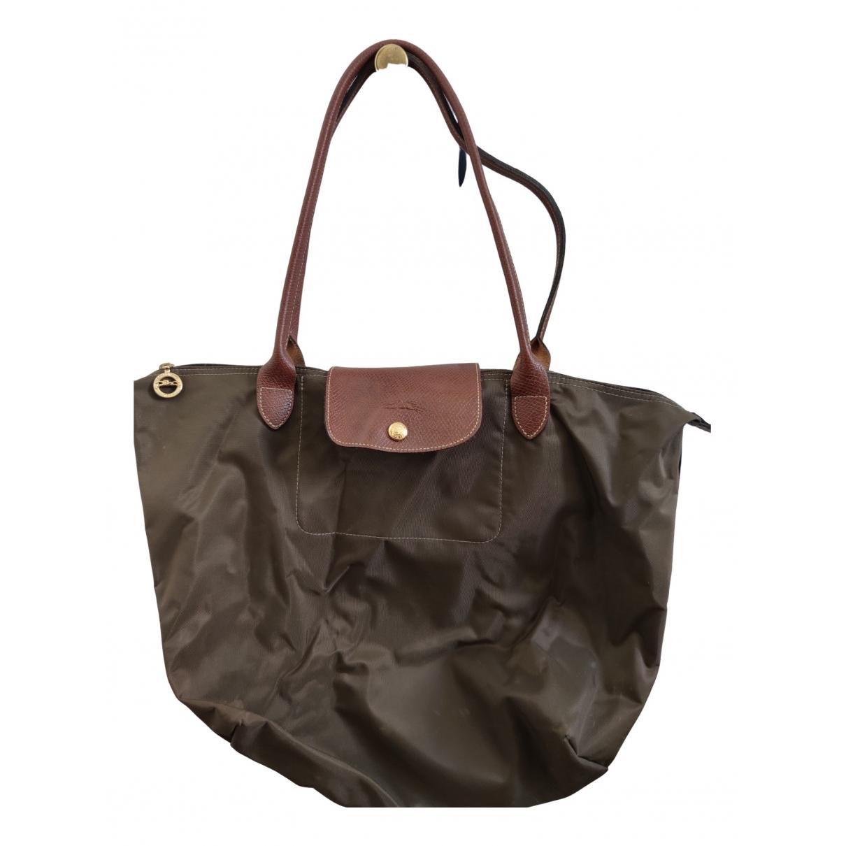 Longchamp - Pochette Pliage  pour femme - marron