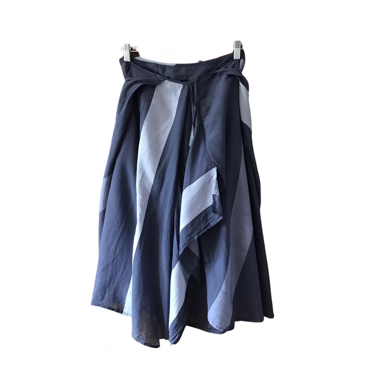 Vivienne Westwood \N Rocke in  Blau Baumwolle