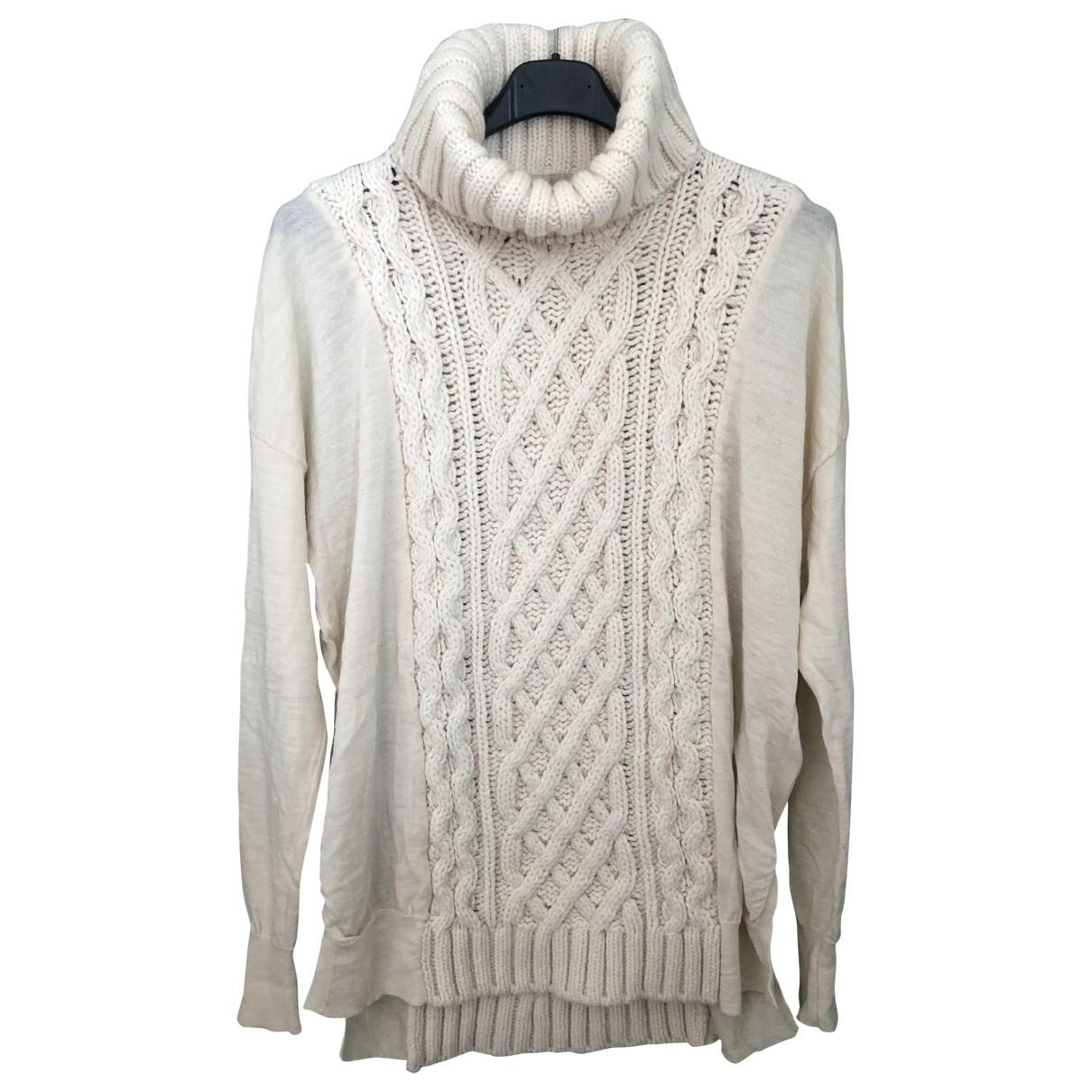 Coast Weber & Ahaus - Pull   pour femme en laine - blanc