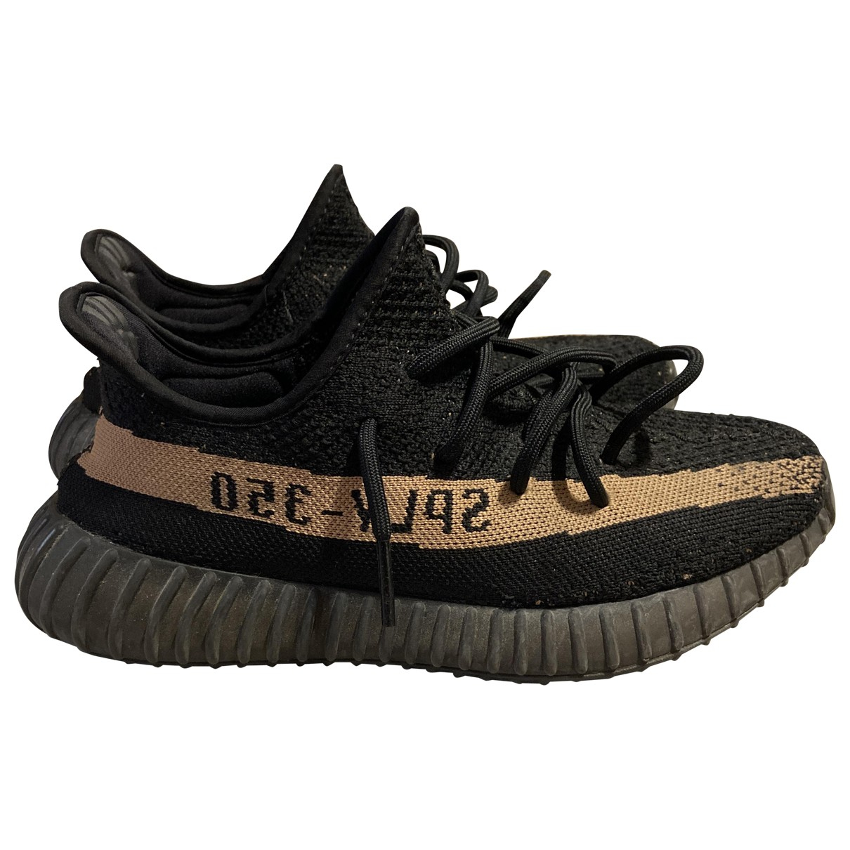 Yeezy X Adidas Boost 350 V2 Sneakers in  Schwarz Polyester