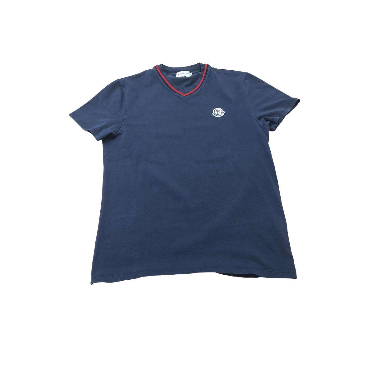 Moncler \N Blue Cotton T-shirts for Men S International