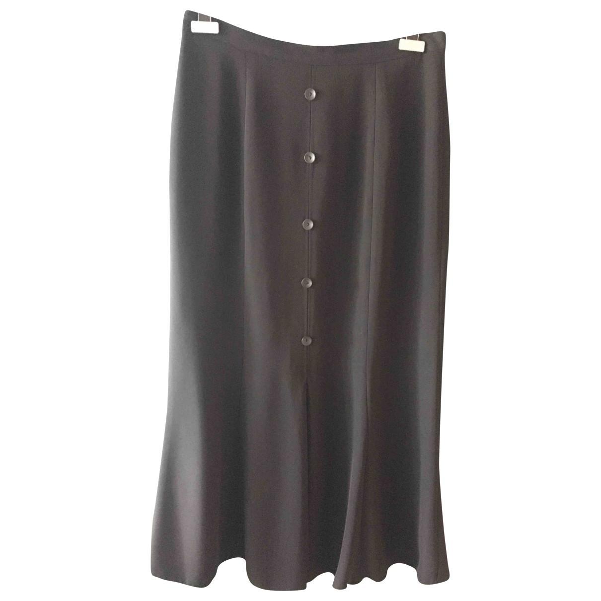 Non Signé / Unsigned \N Black skirt for Women XL International