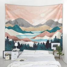1pc Mountain & River Tapestry