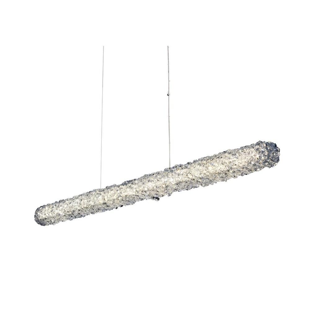Allegri 035560010FR001 LED Isl Pendant Lina Chrome - One Size (One Size - Clear)