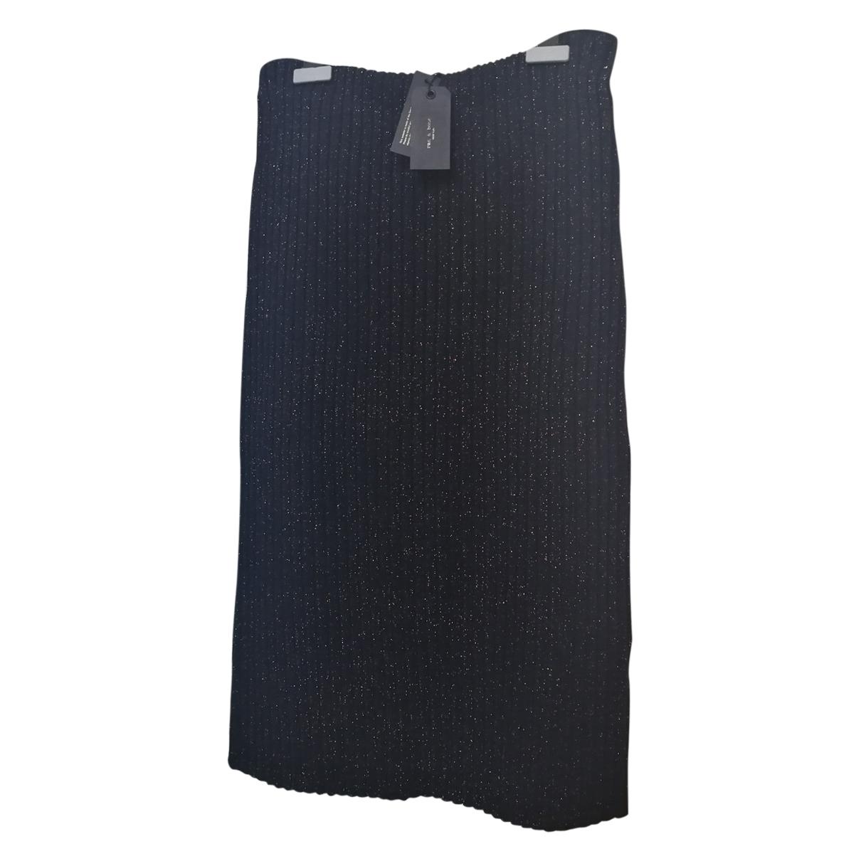 Rag & Bone \N Black Wool skirt for Women 40 FR