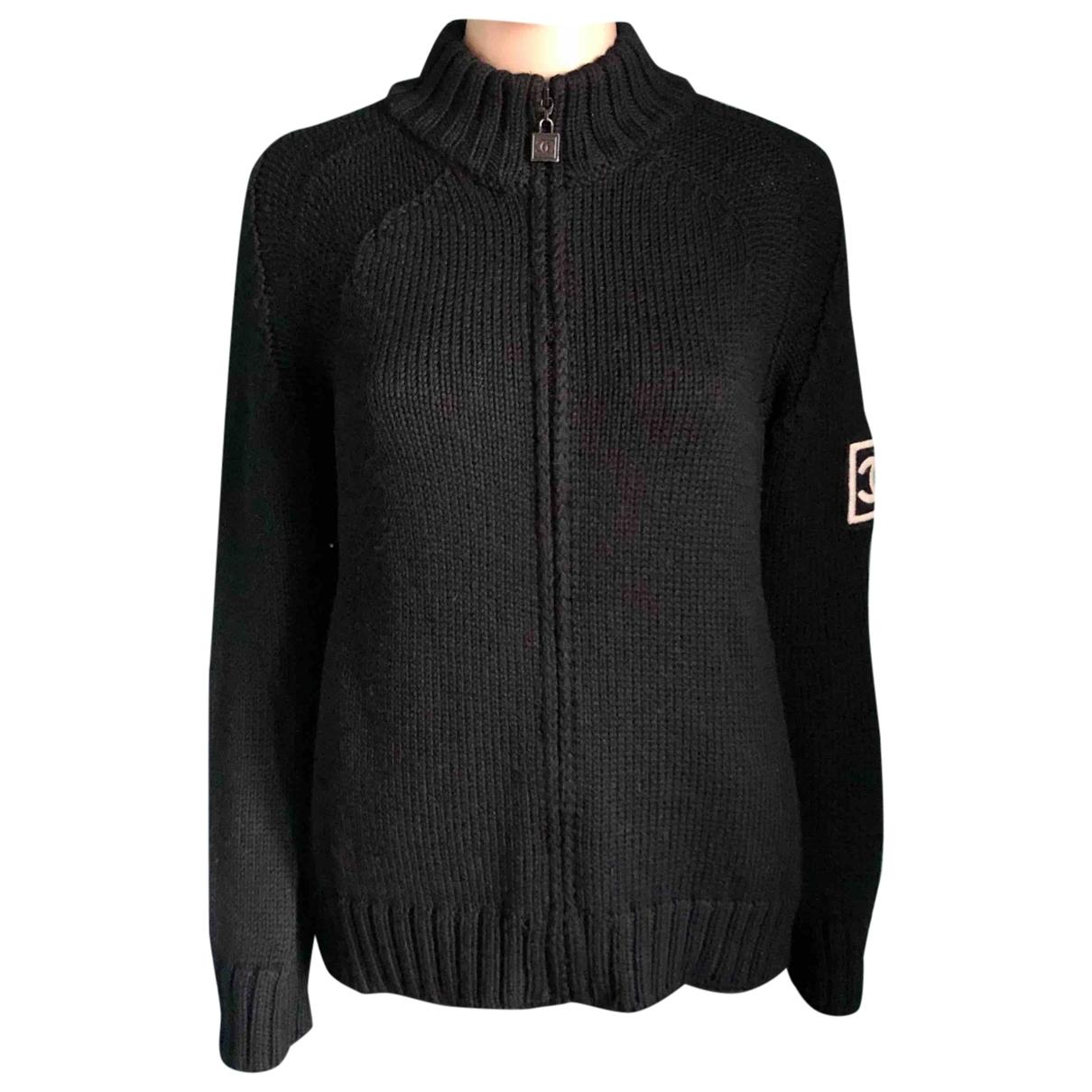Chanel \N Black Wool Knitwear for Women 42 FR