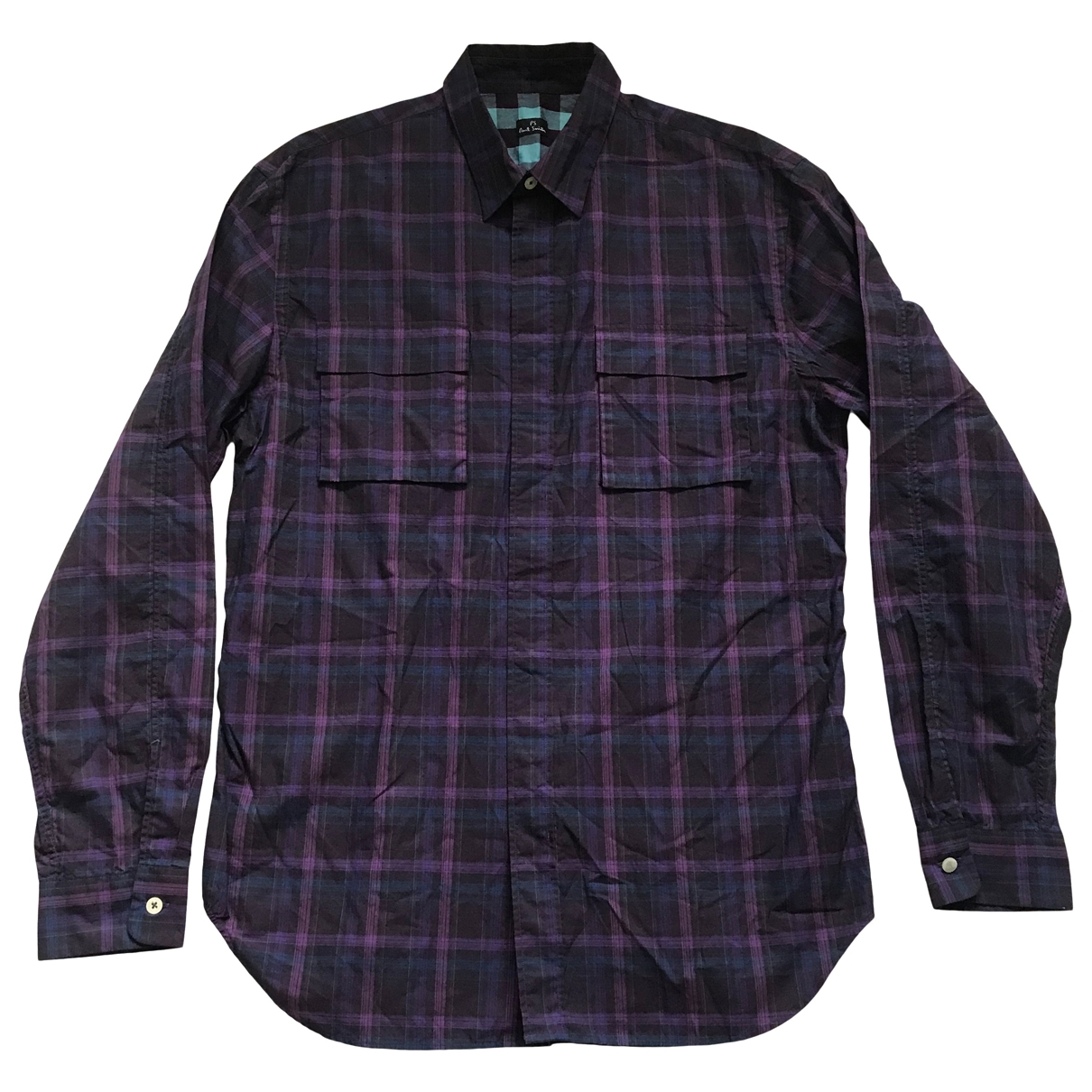 Paul Smith \N Purple Cotton Shirts for Men M International