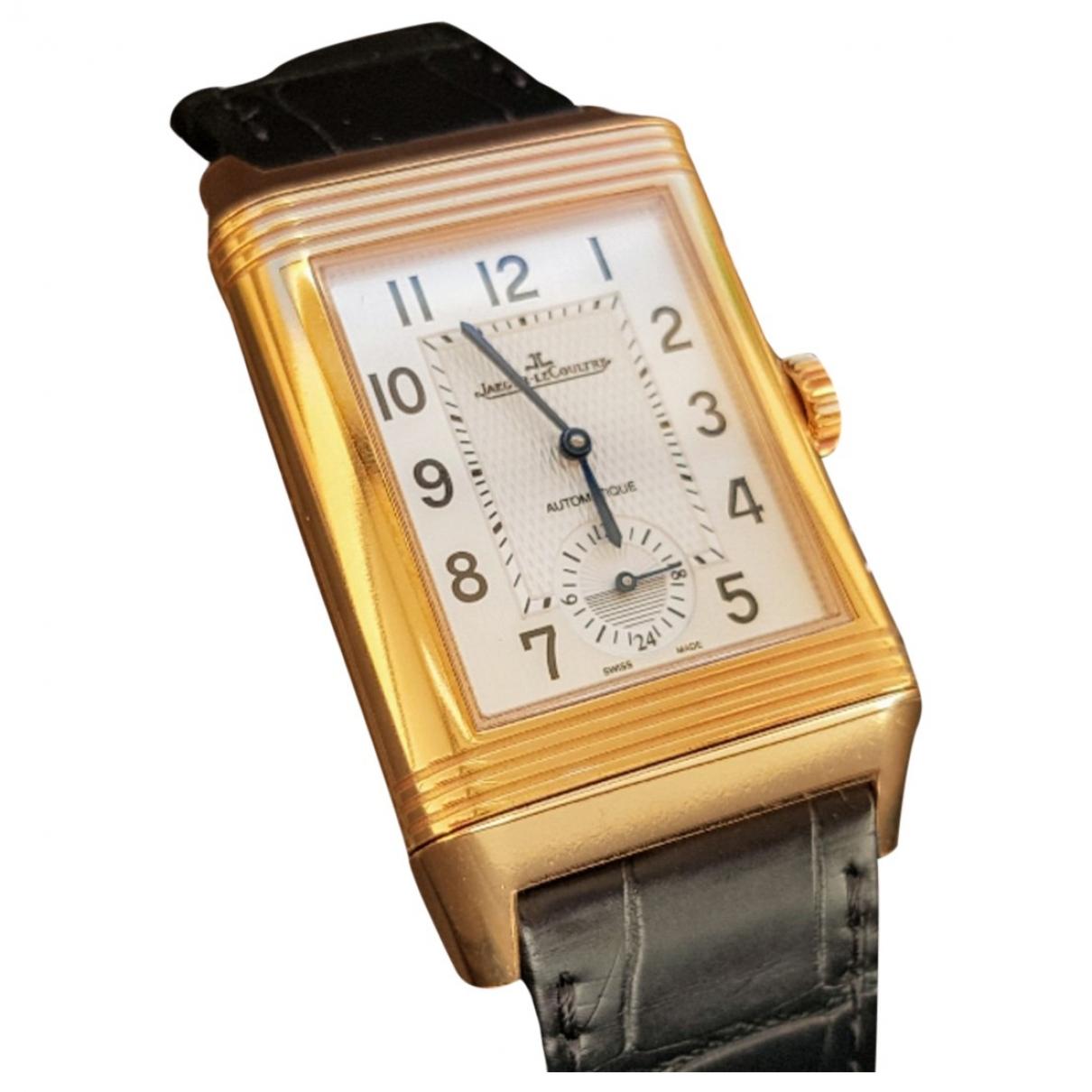 Relojes Reverso Grand Modele de Oro rosa Jaeger-lecoultre