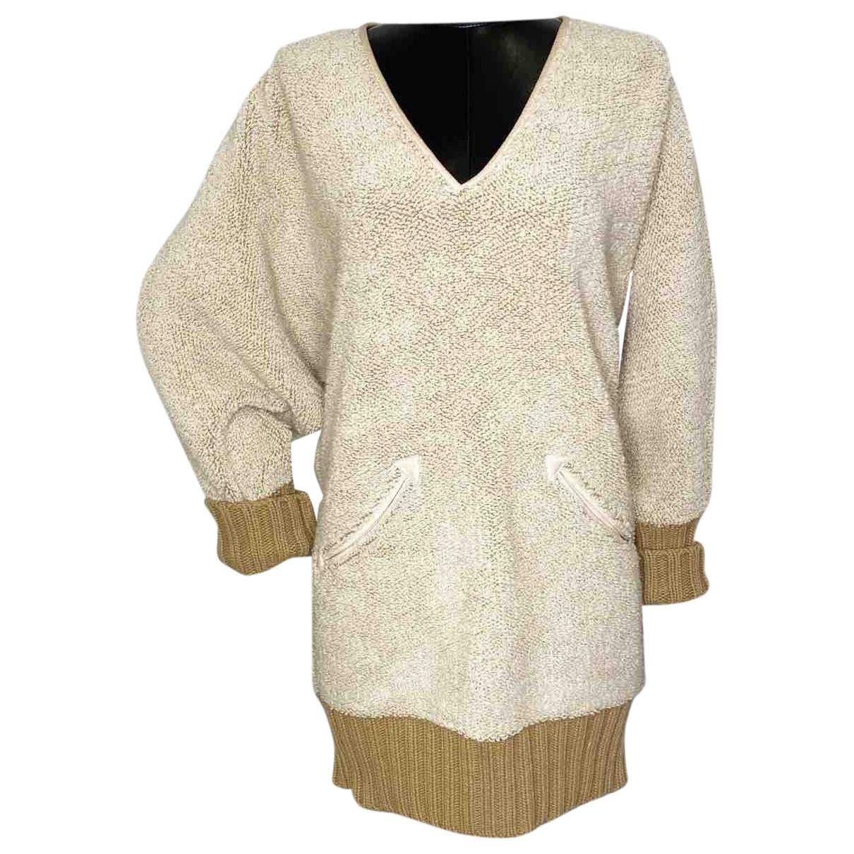 Chloe \N Kleid in  Beige Wolle