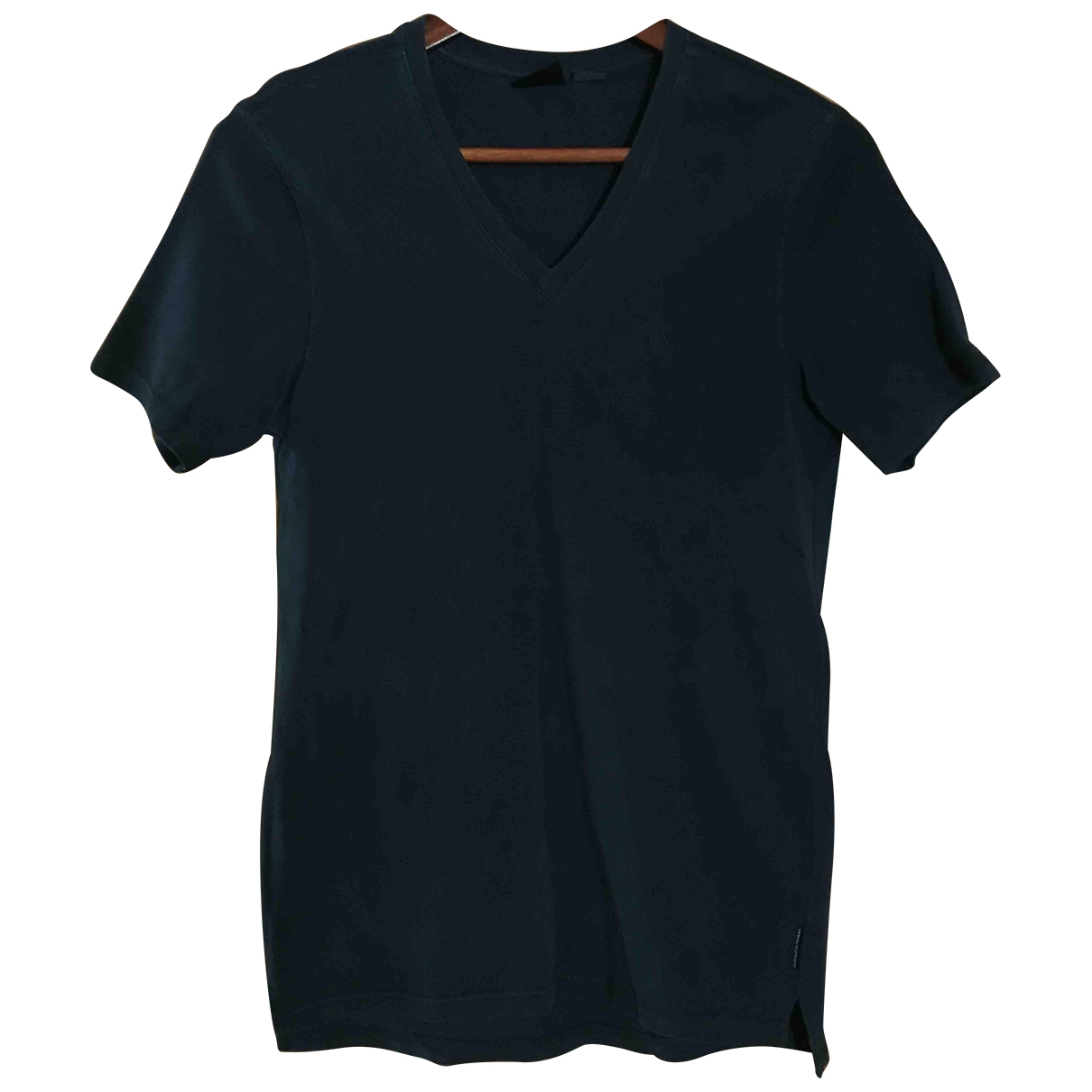 Emporio Armani \N Navy Cotton Shirts for Men XS International