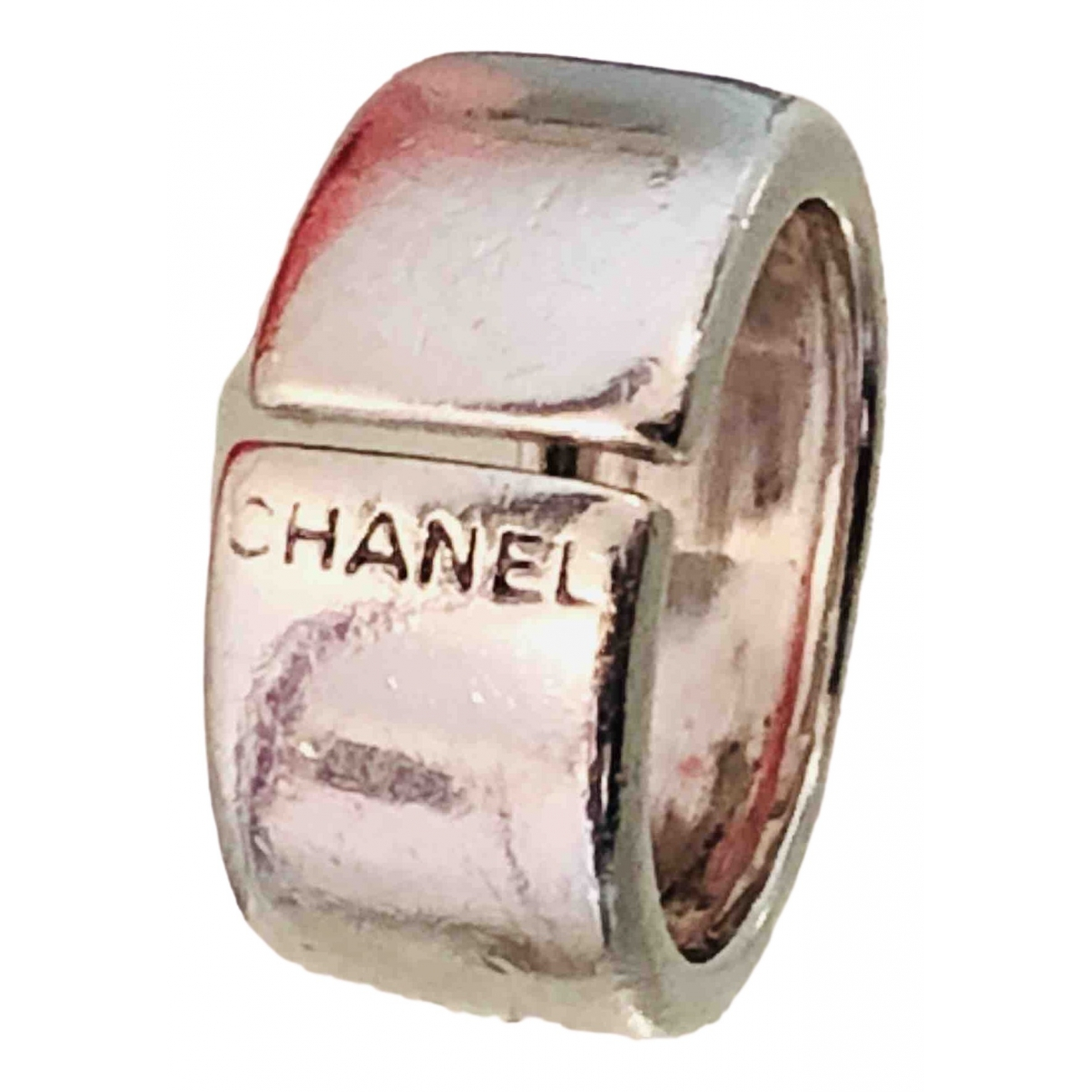 Chanel CHANEL Silver Silver ring for Women 52 MM