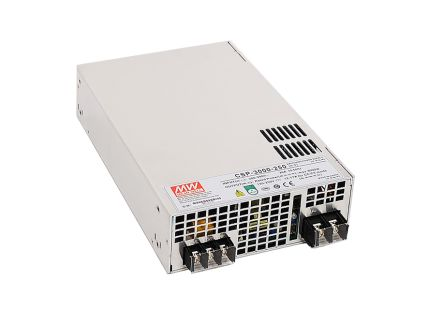 Mean Well , 3kW Embedded Switch Mode Power Supply SMPS, 120V dc, Enclosed