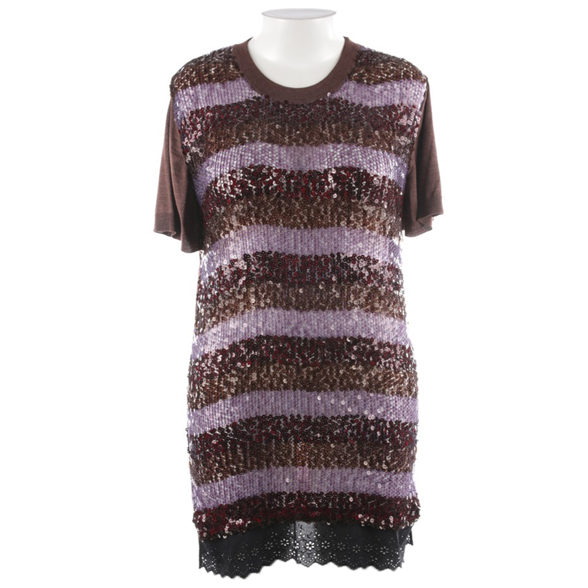 Louis Vuitton \N Kleid in  Braun Kaschmir