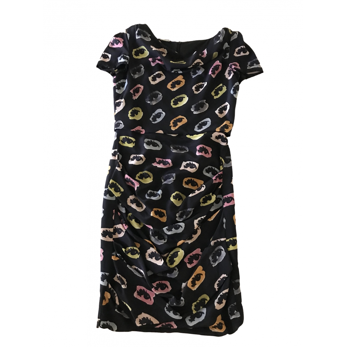 Moschino Cheap And Chic \N Black Silk dress for Women 42 IT