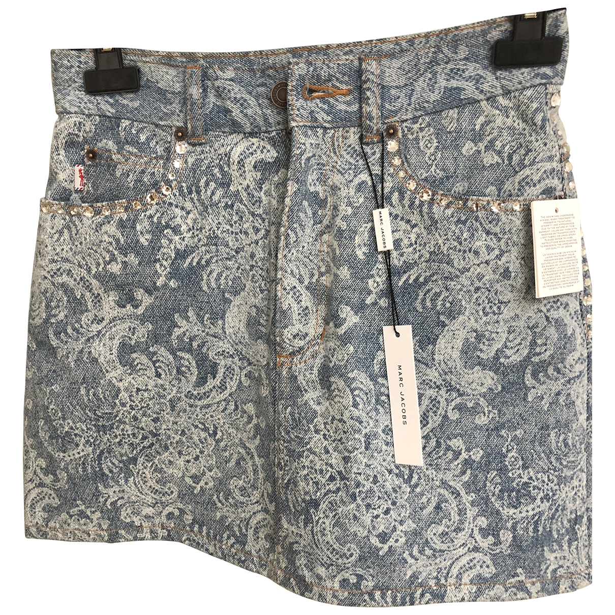 Marc Jacobs \N Rocke in  Blau Denim - Jeans