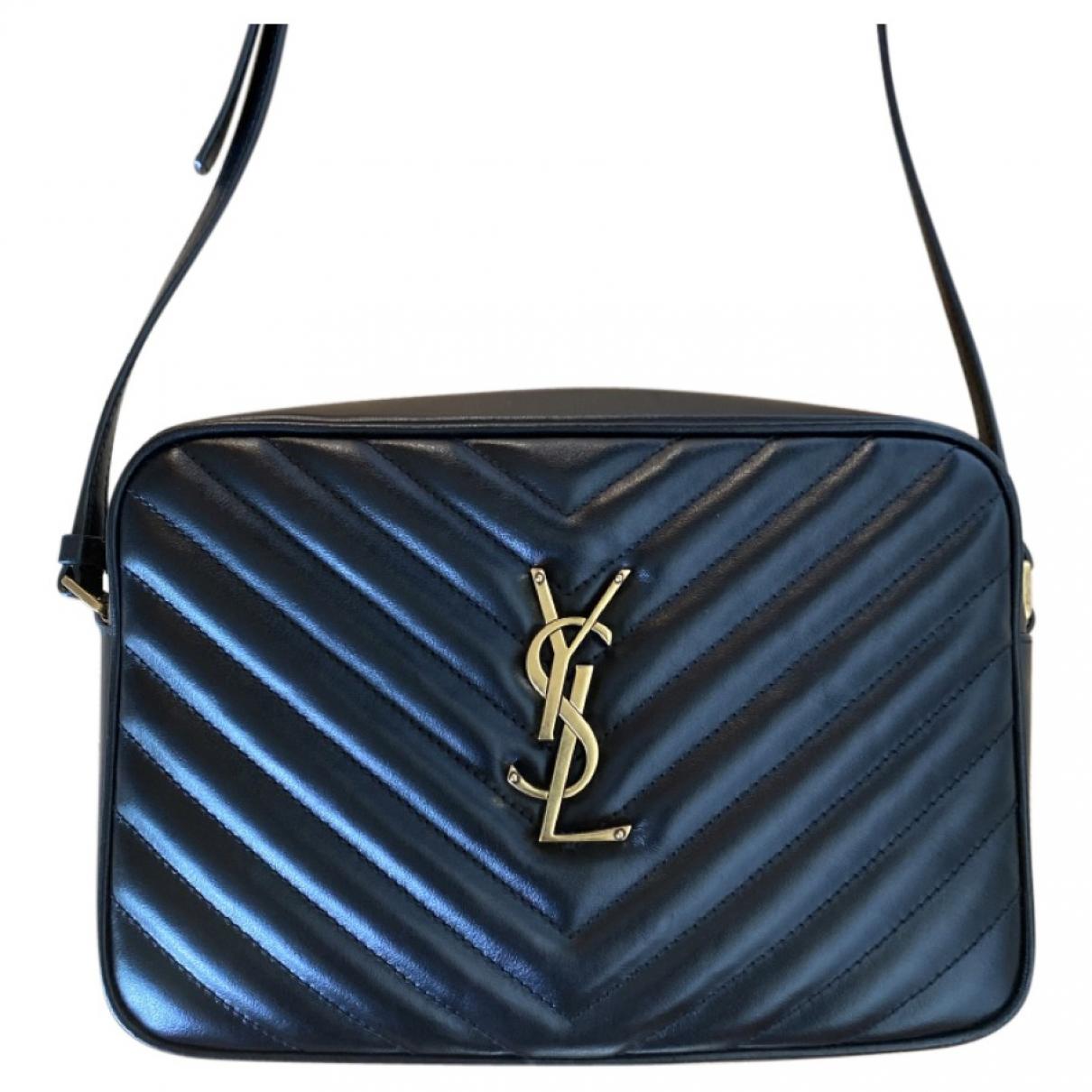 Saint Laurent Camera Lou Black Leather handbag for Women \N