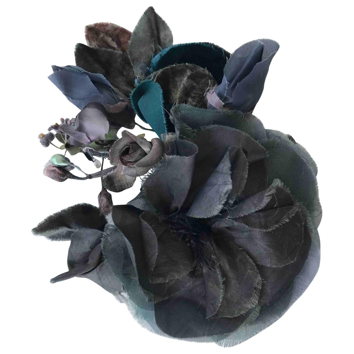 Dolce & Gabbana - Broche   pour femme en soie - multicolore