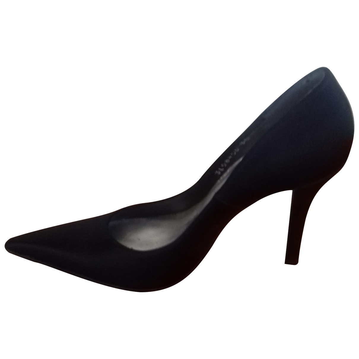 Stuart Weitzman \N Black Cloth Heels for Women 35 EU