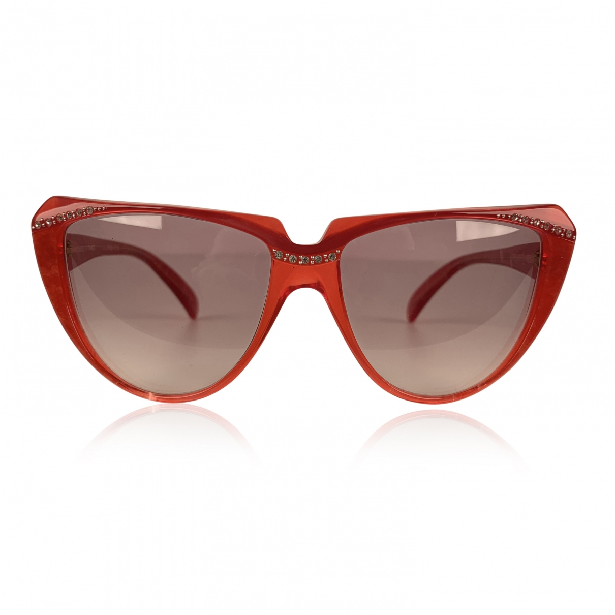 Yves Saint Laurent \N Sonnenbrillen in  Rot Kunststoff