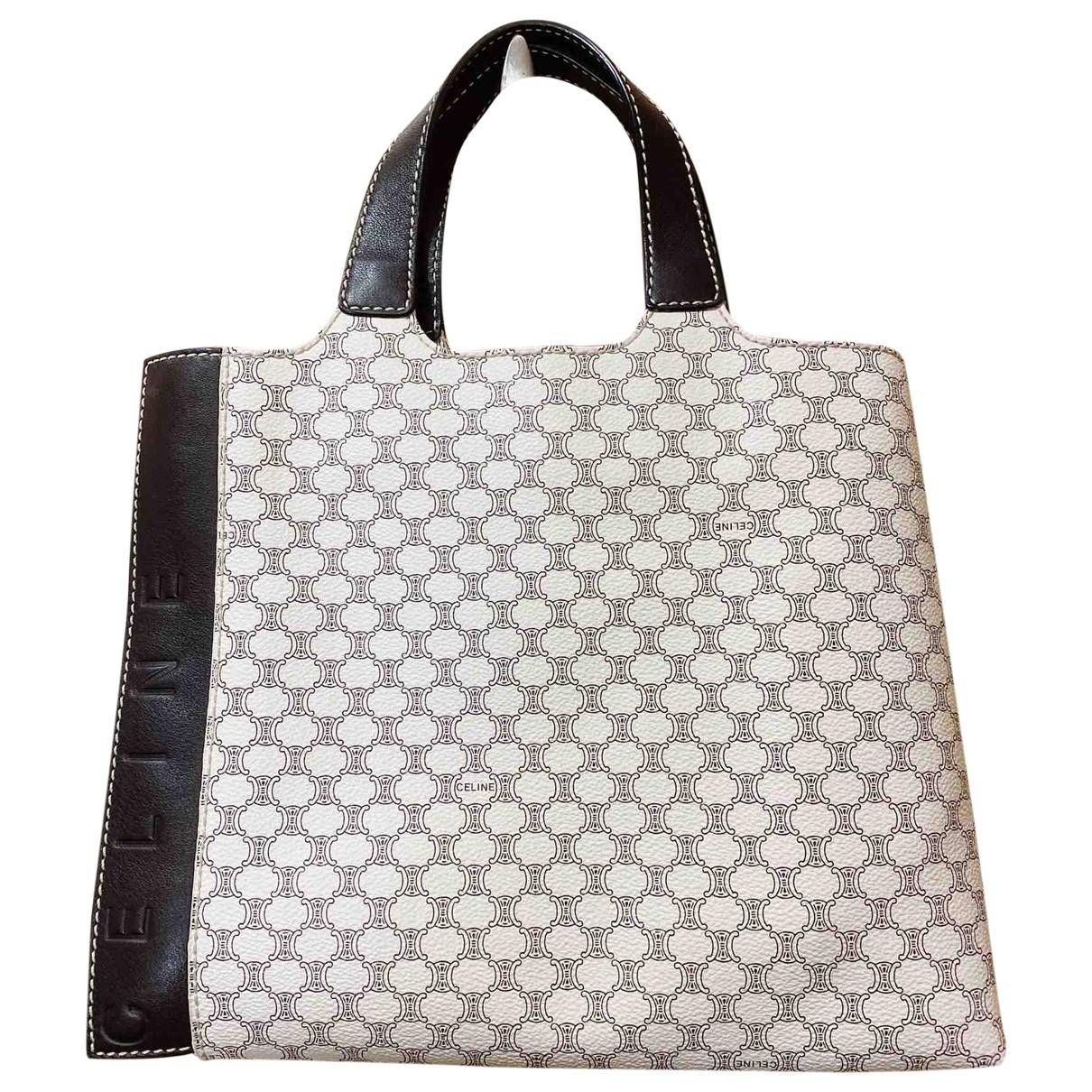 Celine \N White Cloth handbag for Women \N