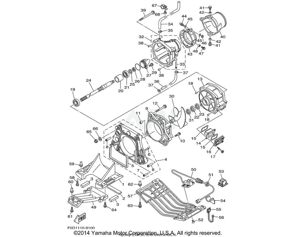 Yamaha OEM 90179-06947-00 NUT