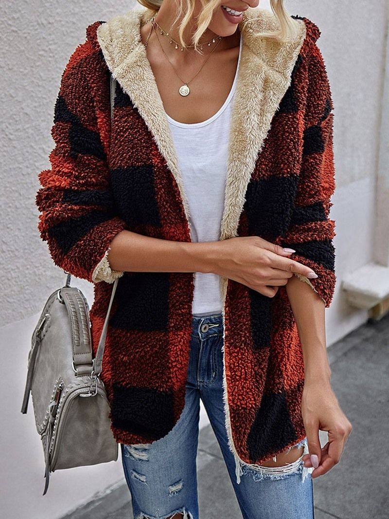 Ericdress Loose Long Sleeve Mid-Length Fall Jacket