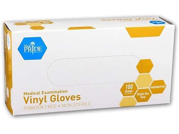 Medpride Powder-free Vinyl Exam Gloves