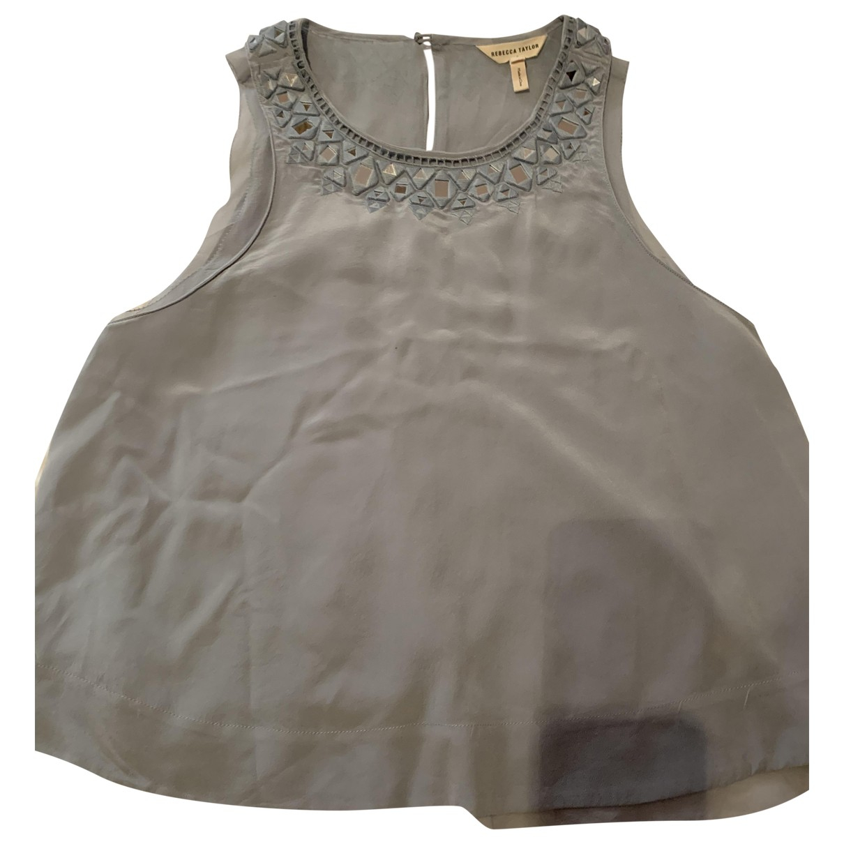 Rebecca Taylor \N Blue Cotton  top for Women 2 US