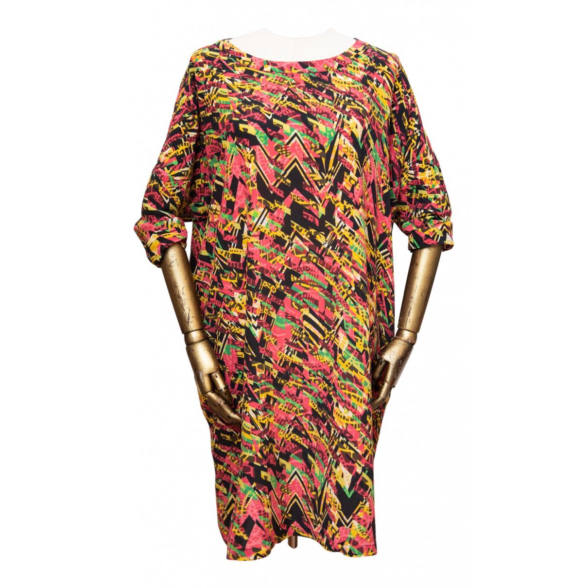 M Missoni - Robe   pour femme en soie - multicolore