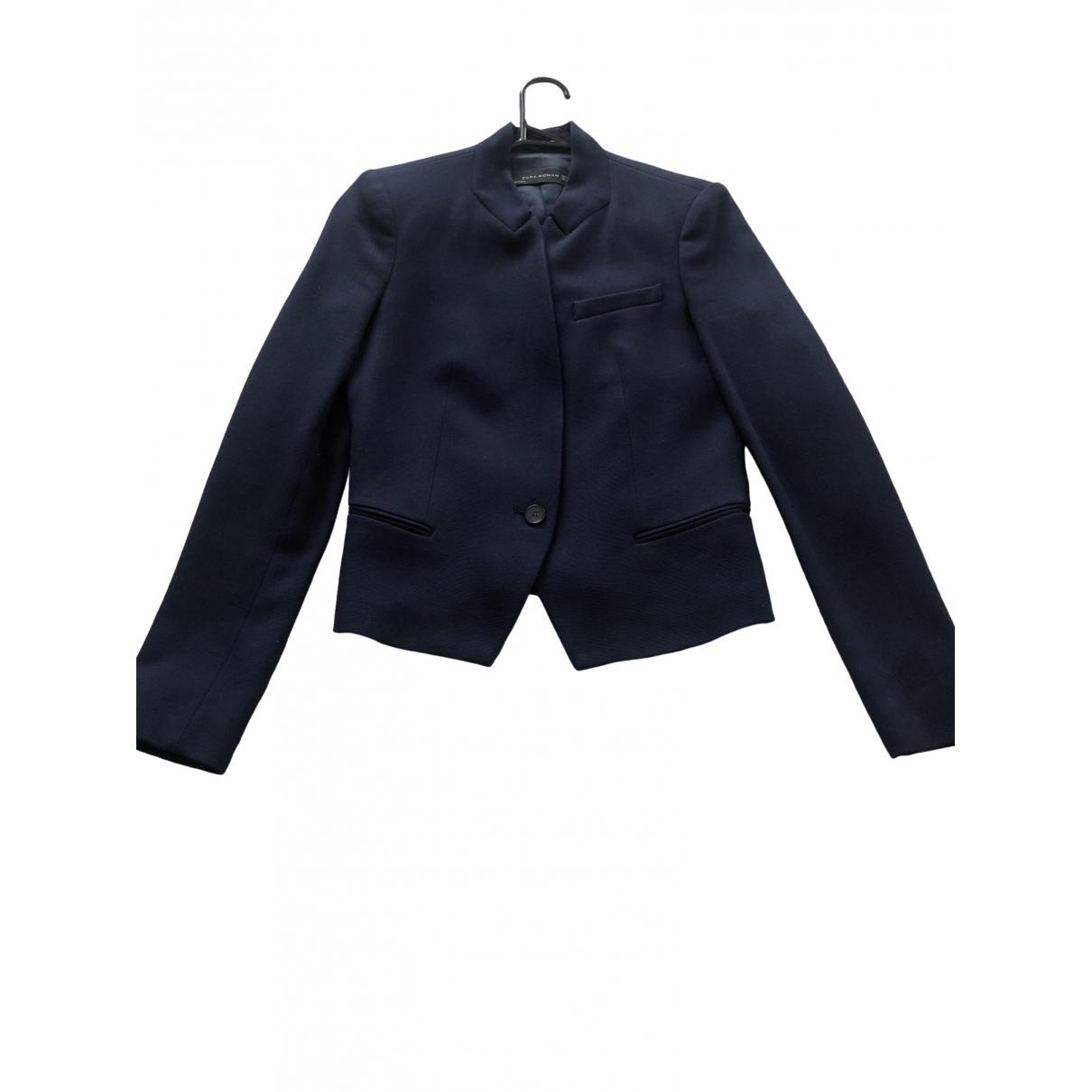 Zara \N Blue jacket for Women 6 UK