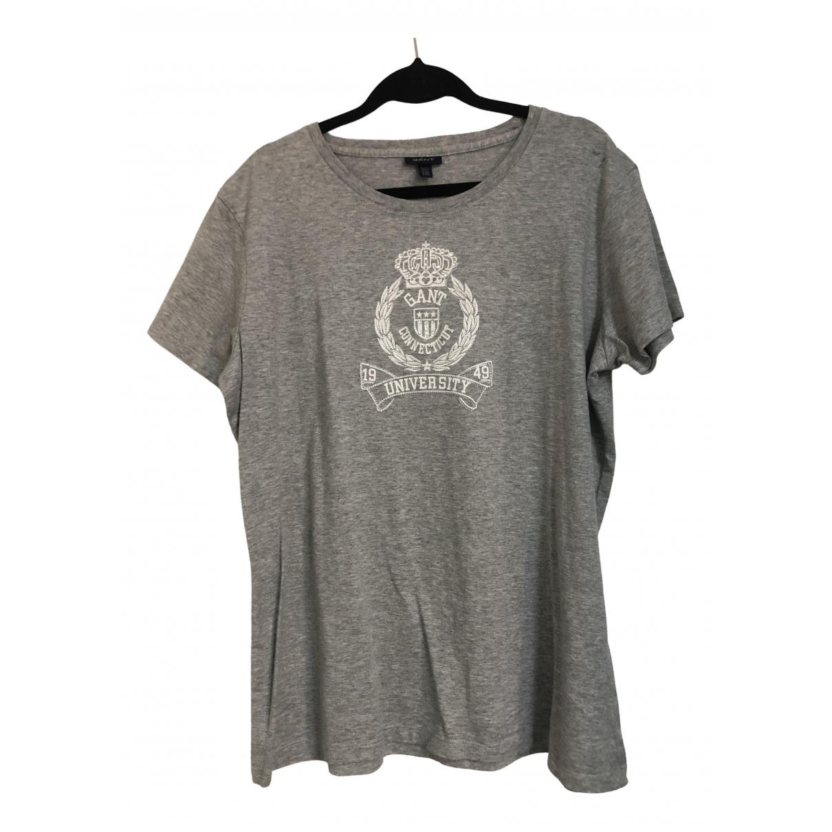 Gant - Top   pour femme en coton - gris