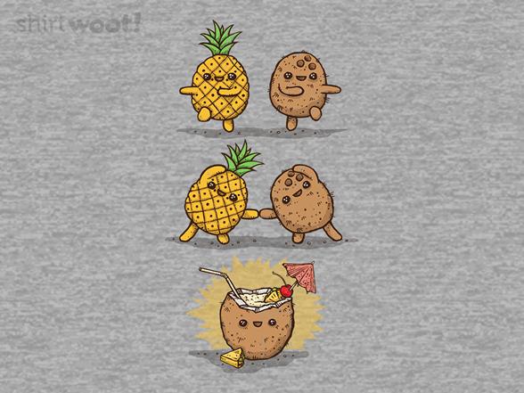 Pina Colada Recipe T Shirt