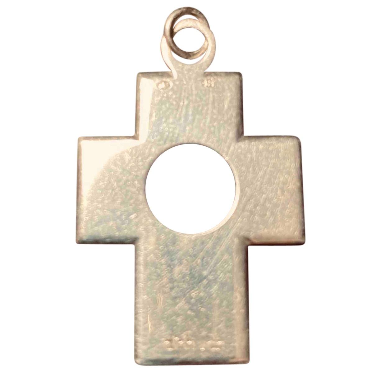 Colgante Croix Percee de Plata Dinh Van