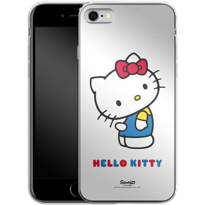 Apple iPhone 6s Silikon Handyhuelle - Hello Kitty von Hello Kitty