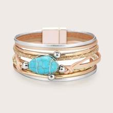 Armband mit Tuerkis Dekor
