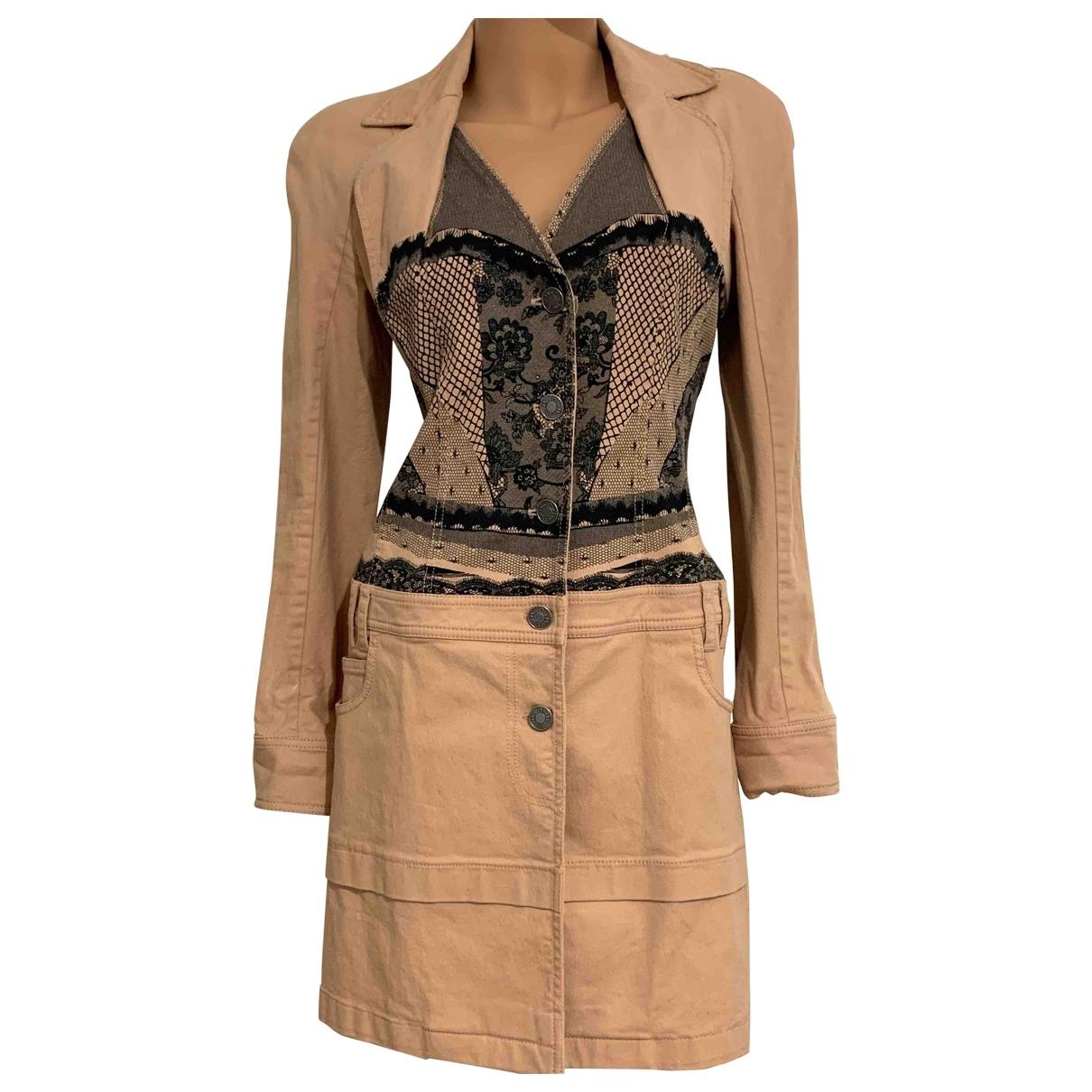 Christian Dior \N Cotton coat for Women 38 FR