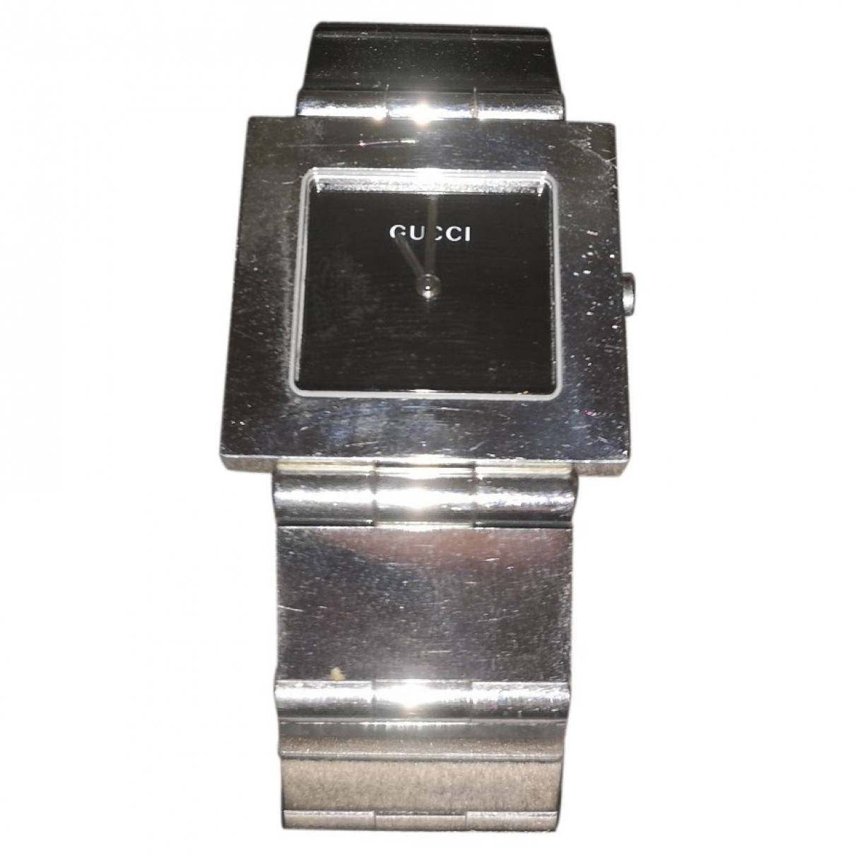 Gucci \N Silver Steel watch for Women \N