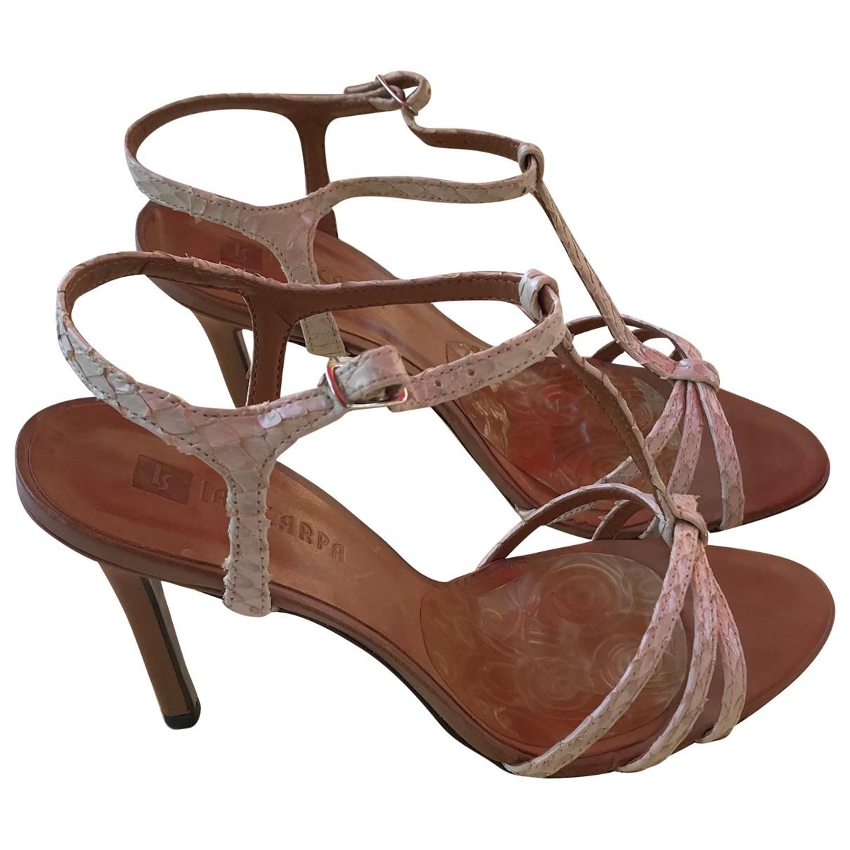 Sandalias de Cuero Elisabeth Stuart
