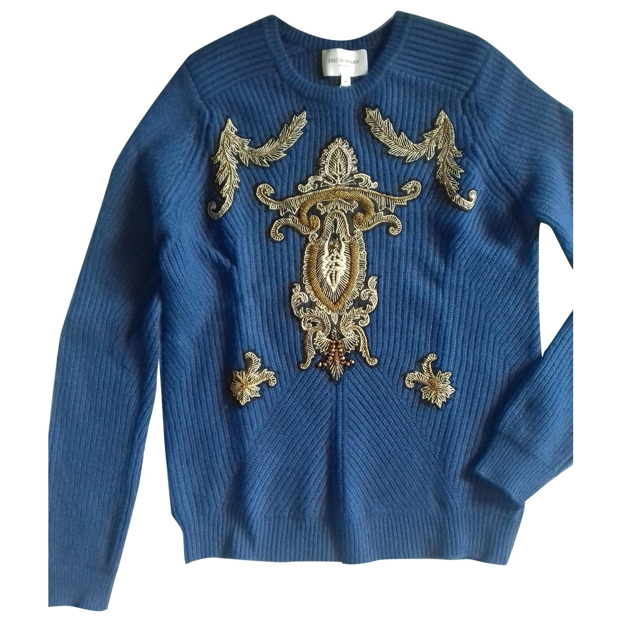 Eric Bompard \N Pullover in  Blau Kaschmir